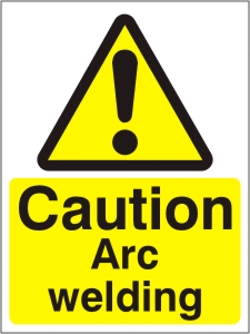 Caution Arc Welding - Health and Safety Sign (WAG.28)