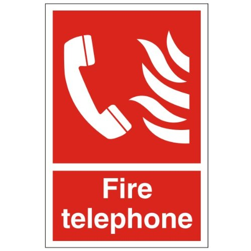Fire Telephone - Health and Safety Sign (FEX.07)