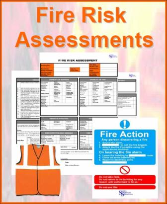 FIRE RISK ASSESSMENTS & FIRE SAFETY LOG BOOK