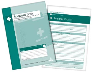 HEALTH AND SAFETY ACCIDENT BOOK