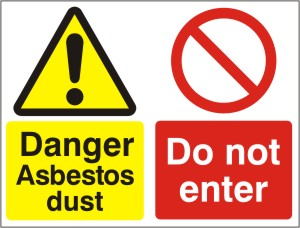 Asbestos Dust - Do Not Enter - Health and Safety Sign (MUL.05)