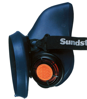 Sundstrom SR100 Half Mask Silicon Re-useable Respirator/Face Mask
