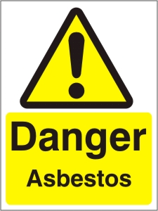 Danger Asbestos - Health and Safety Sign (WAG.06)