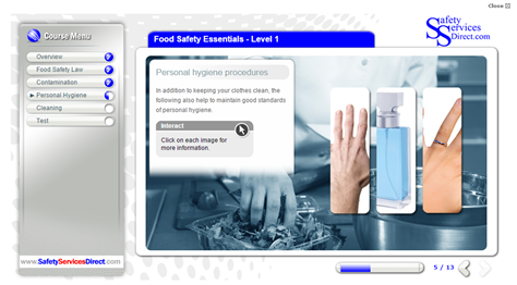 food safety online health and safety training course   approved by    food safety     summary   personal hygiene     introduction     lesson objectives     standards of personal hygiene     standards of personal hygiene
