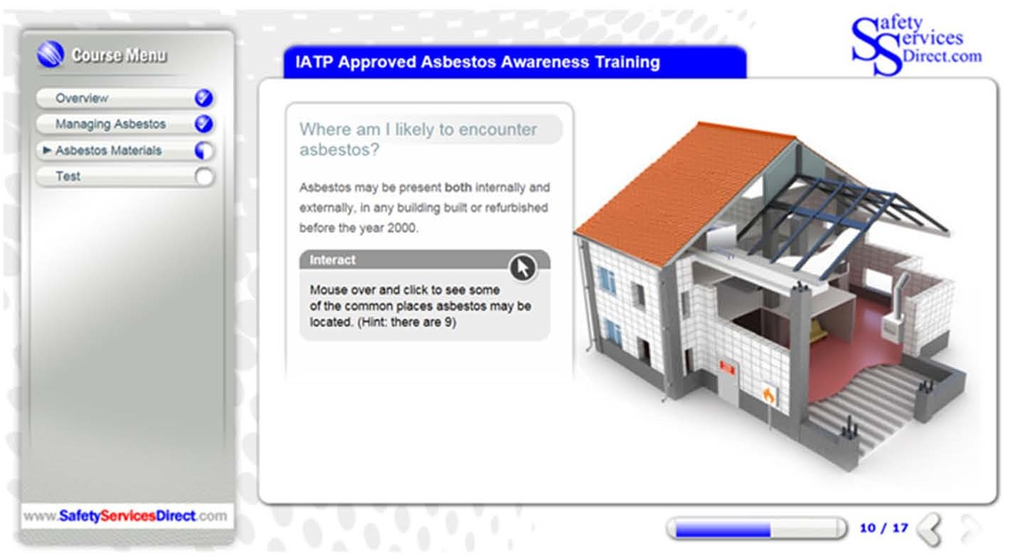 IATP Online Asbestos Awareness Training course