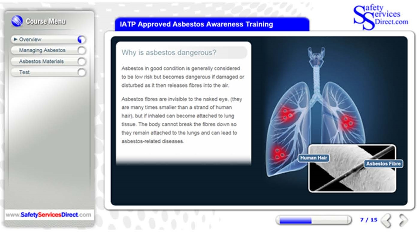 IATP Category A Online Asbestos Awareness Training course