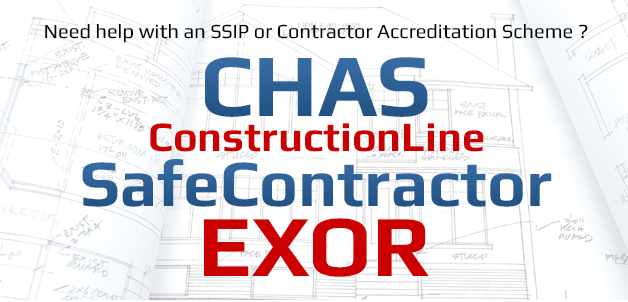 CHAS SSIP SafeContractor Altius EXOR Accreditation