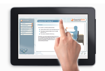 online manual handling training for Ipads