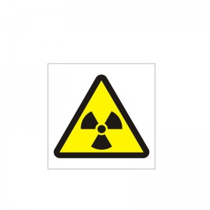 Danger Radiation (150x150) - Health and Safety Sign (WAG.106)