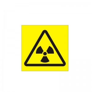 Danger Radiation (150x200) - Health and Safety Sign (WAG.107)