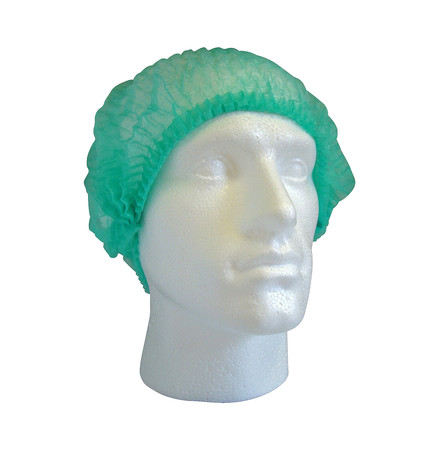Cater Safe Pleated Mob Caps - Green