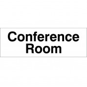 Conference Room - Health & Safety Sign DOR.17E - 300x100mm