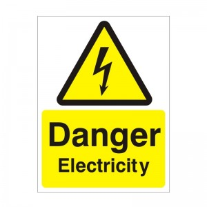 Danger Electricity - Health and Safety Sign (WAE.26)