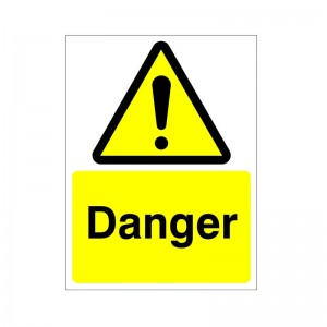 Danger - Health and Safety Sign (WAG.110)