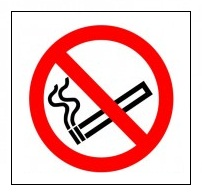No Smoking - Individual - Health and Safety Sign (PRS.08) - Super-high quality no smoking signs for as little as 90p! From Safety Services Direct.