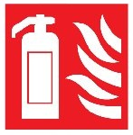 Fire Extinguisher - Fire Safety Health and Safety Sign (FEX.18)