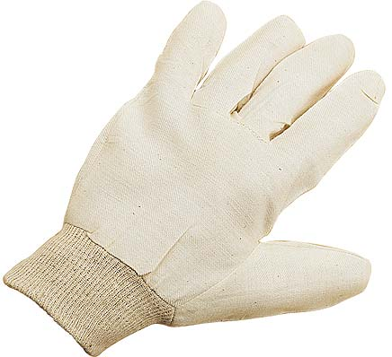 Keep Clean Standard Quality Cotton Drill Glove