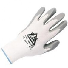 Keep Safe Nitrile Coated Glove White / Grey