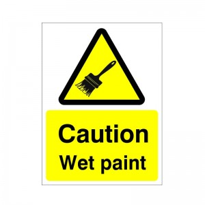 Caution Wet Paint - Health and Safety Sign (WAG.52)