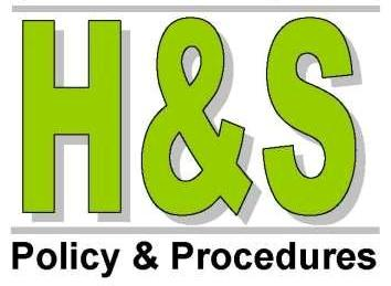 Health And Safety Policy And Procedures Manual Update