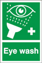 EYE WASH SAFETY SIGN - HEALTH & SAFETY SIGN (FA.13)