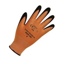 Keep Safe Orange PU Coated Cut Resistant Glove