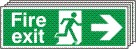 Fire Exit Arrow Right - Fire Safety Sign (FE.04)
