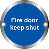 Fire Door Keep Shut- Health & Safety Sign (ARC.70)