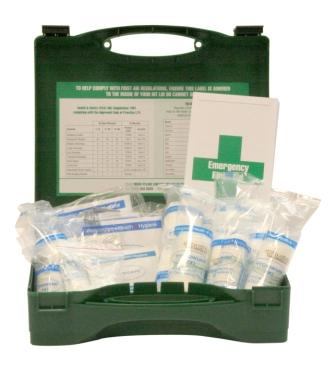 First Aid Kit - 20 Person HSE Compliant First Aid Kits - £8.99 cheapest on the web!