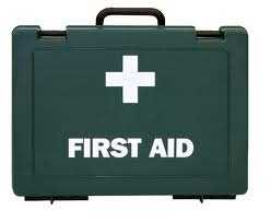 First Aid Kits, Plasters and Sharps Containers
