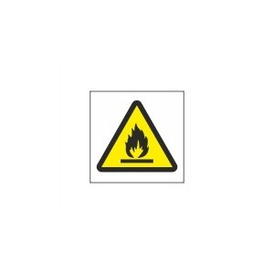 Flammable Symbol (150x150) - Health and Safety Sign (WAG.109)