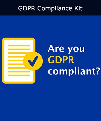 GDPR Compliance Kit | Safety Services Direct