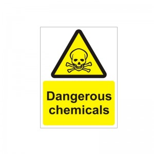 Dangerous Chemicals - Health and Safety Sign (WAG.32)