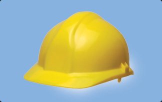 Centurion 1125 Full Peak Safety Helmet Yellow