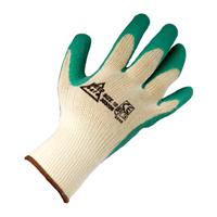 Keep Safe Grip Latex Coated Glove Green