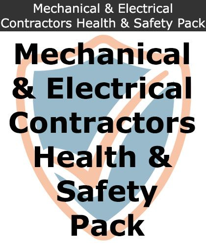 Mechanical Plumbers & Electrical Contractors Health and Safety Pack | Safety Services Direct