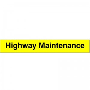 Highway Maintenance - Health and Safety Sign (WAG.31)