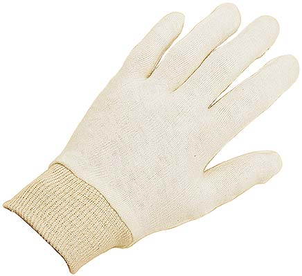 Keep Clean Cotton Stockinette Glove (Box of 1200 Pairs)
