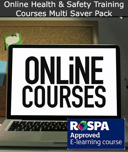 Online Health and Safety Training Courses - Multi Saver Pack