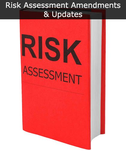 Risk Assessment & Method Statement Amendments