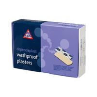 Assorted Wash Resistant Plasters - Box of 100