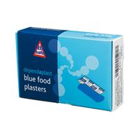 Blue Detectable Plasters for Food Preparation Areas - Box of 100