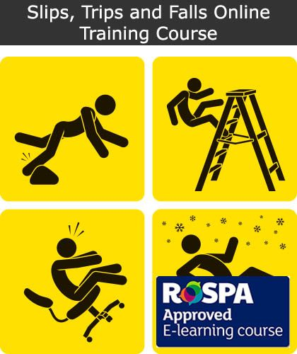 Slips, Trips and Falls Online Training Course | Safety Services Direct