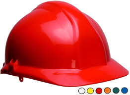 Centurion 1125 Full Peak Safety Helmet Red
