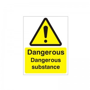 Danger Dangerous Substance - Health and Safety Sign (WAG.57)