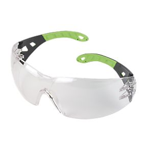 Uvex Pheos Safety Glasses Clear