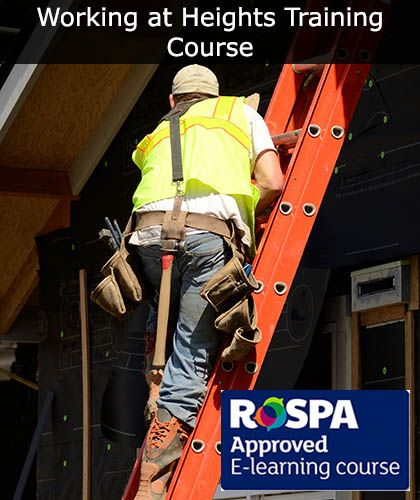 Working At Height Training Course Online | Safety Services Direct