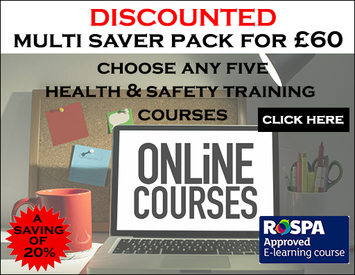 Safety Services Direct health and safety training multi saver pack